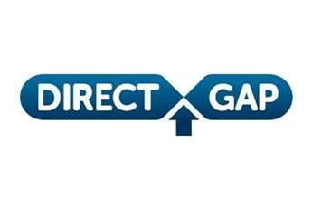 Direct Gap Logo White Square