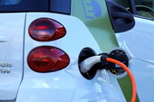 The electric car charging network in the UK